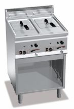 Commercial Gas Fryer CHGXL8+8M
