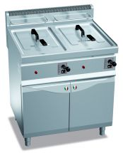 Commercial Gas Fryer CHGXL10+10M