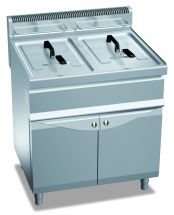 Commercial Gas Fryer CHGXL15+15M