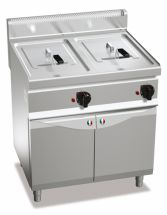 Commercial Gas Fryer CHGXL18+18MI