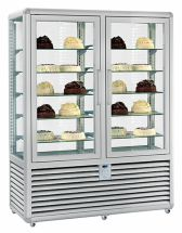 Commercial Upright Ice Cream Display Freezer 1082 Litres
