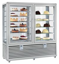 Vertical Pastry Showcase and Ice Cream Parlor Double Vertical Room 1082 LT