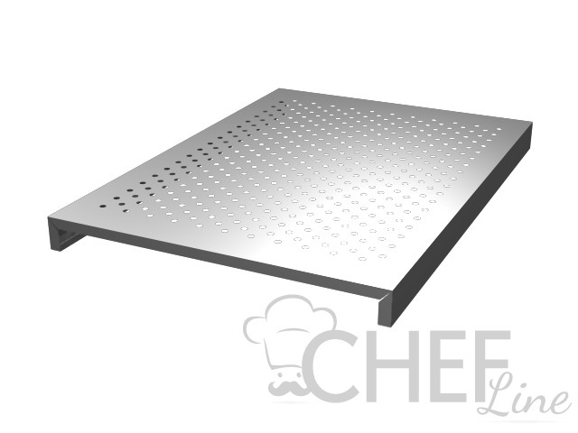Steel mussel grill 900 x 480mm For Nettuno Fish Counter
