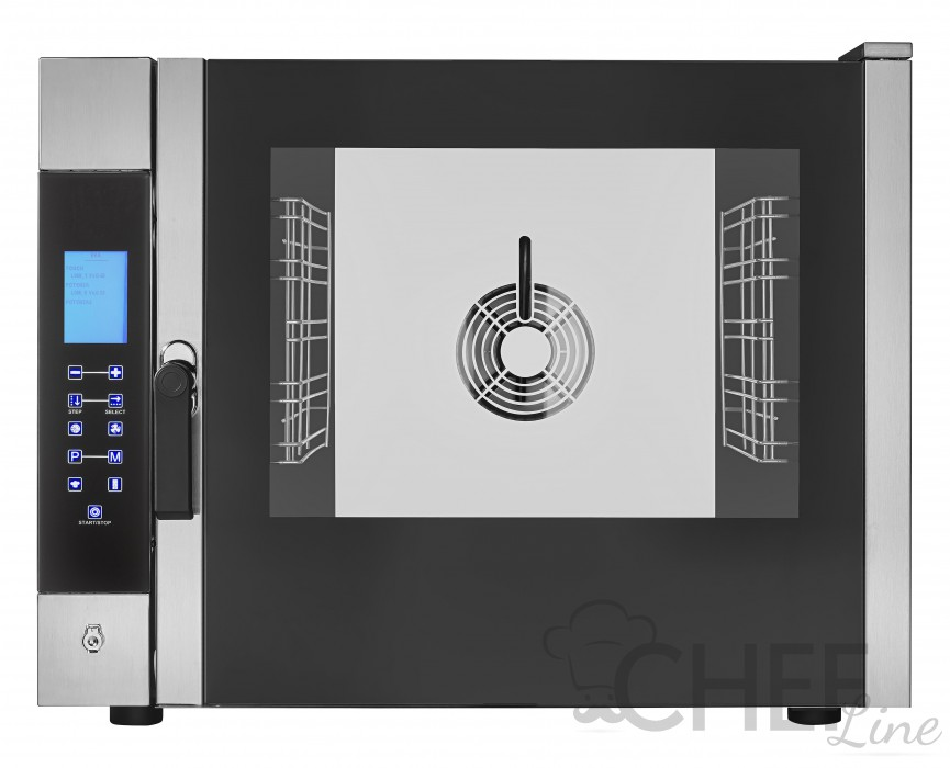 Commercial Electric Oven 5 1/1 Gn Trays Direct Steam - Touch Control