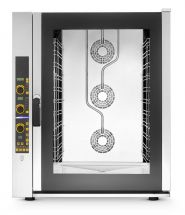 Commercial Electric Convection Oven - 11 GN 1/1 Trays (53x32,5 cm) - Direct Steam - Digital