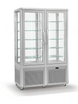 Refrigerated Vertical Glass Cake Display Cabinet 742 Liters - Ventilated