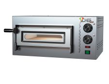 Compact Single Commercial Electric Pizza Oven 1 Pizza 34 Cm Diameter, 17 cm height