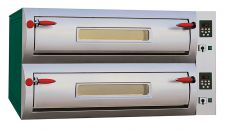 Commercial Electric Double Pizza Oven Digital Electric Pizza Oven- Digital - 143 x 100 x 80 cm