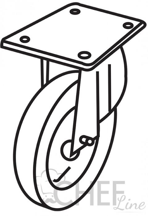 Wheel Kit for Commercial Oven Support