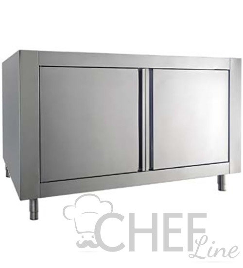 Neutral Stainess-Steel Cabinet For Commercial Pizza Oven Series Pro