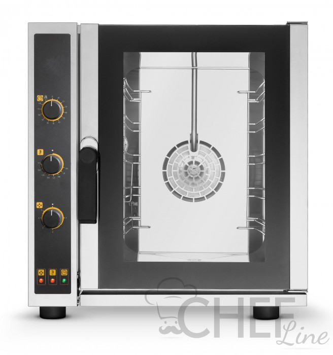 Commercial Electric Manual Convection Oven For Restaurants 5 Trays