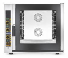 Commercial Electric Convection Oven 7 1/1 Gn Trays (53x32,5 cm) - Direct Steam With Boiler