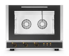 Commercial Electric Bakery Convection Oven 60x40 cm Trays - Direct Steam- Manual