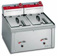 Commercial Table-Top Electric Deep Fryer CHEXLT12+12B-E