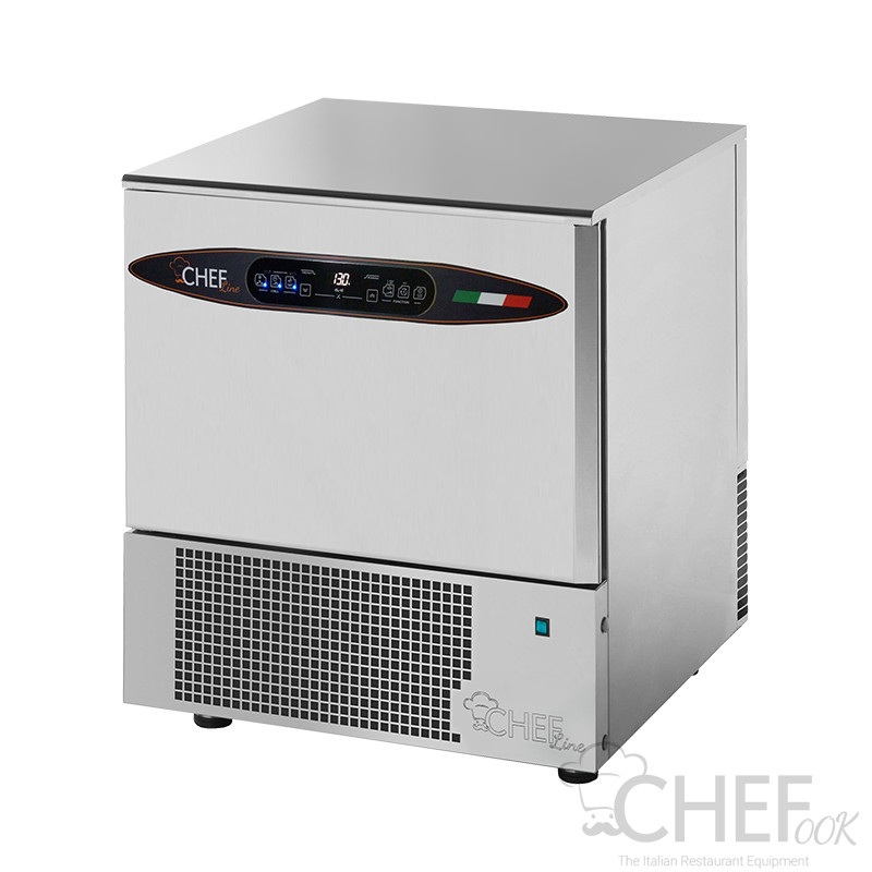 CHEFOOK Blast Chiller/Blast Freezer 5 Trays GN 1/1 - 60 x 40 DELUXE