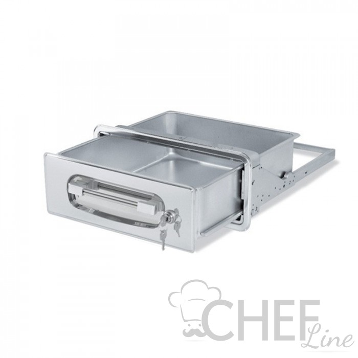 Stainless Steel Money Drawer With Lock