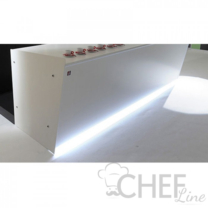 LED Lighting Between Base And Front Panel