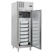 Commercial Upright Fridge For Fish/Seafood 700 -7°C/+2°C CHAF65P-FISH