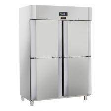 Gewerbe Tiefkühlschrank 1400 -22/-18°C Top Line Energieklasse D CHAF1400NTL4S