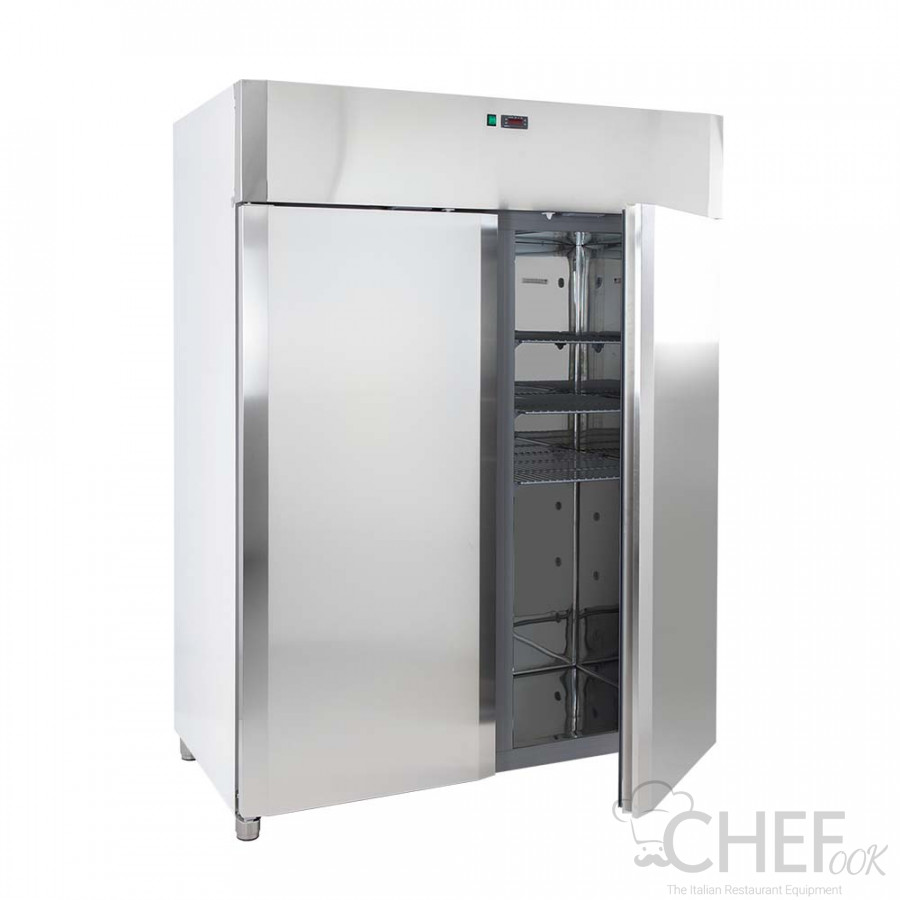Commercial Upright Fridge DELUXE 1400 0°C/+10°C AF14PKMTN-O