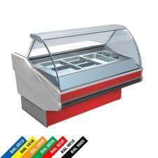 Bain Marie Hot Food Display Counter Salina Plus