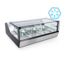 Countertop Display Fridge For Bars and Deli Shops +2°C/+8°C FULL OPTIONAL