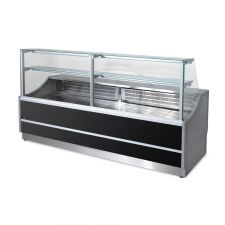 Static Serve Over Counter Oristano with Flat Glass And Storage Depth 81 cm +4°C/+6°C by Chefook