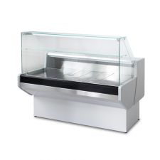 Static Serve Over Counter Padova with Flat Glass And Storage Depth 91 cm 0°C/+2°C