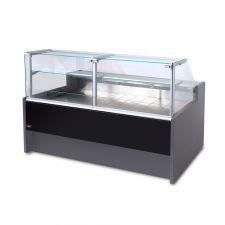 Static Serve Over Counter Fridge Portofino With Straight Glass and Depth 109 cm +2°C/+6°C