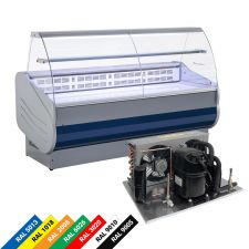 Serve Over Counter Salina 80 VDC +3°C/+5°C With Remote Motor
