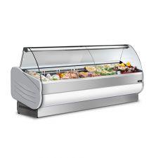 White Semi-ventilated Serve Over Counter Salina 150 VCC +3°C/+5°C + Sliding