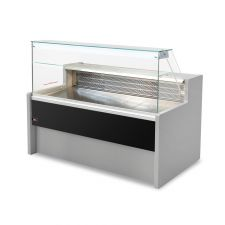Static Serve Over Counter Tivoli with Flat Glass and Storage Depth 79 cm +4°C/+6°C CHEFOOK