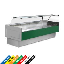 Semi Ventilated Serve Over Counter Fridge With Straight Glass and High Front Depth 90 cm