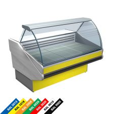 Hot Plate Display Counter Salina Lux Hot