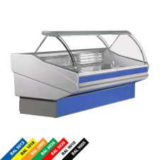 Low-Ventilation Meat and Deli Counter Panarea