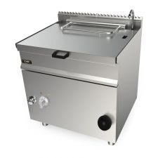CHEFOOK Electric Bratt Pan With Automatic Tilting 55 Lt - 70 cm / 27,5 in Depth