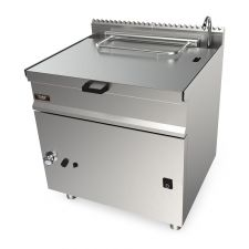 CHEFOOK Gas Bratt Pan With AutomaticTilting 55 Lt - 70 cm/27,5 in Depth