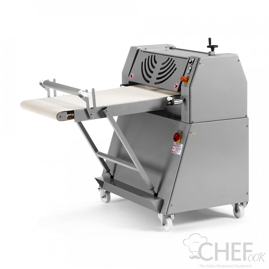 Dough Calibration Machine For Dough Thickness With Conveyor Belt Depth 60 cm CHEFOOK