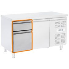 Image Supplement 2 Drawers 1/3 and 2/3 For ECHTF Series Fridge Counters