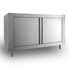 Neutral Stainess-Steel Cabinet For Commercial Gas Pizza Oven