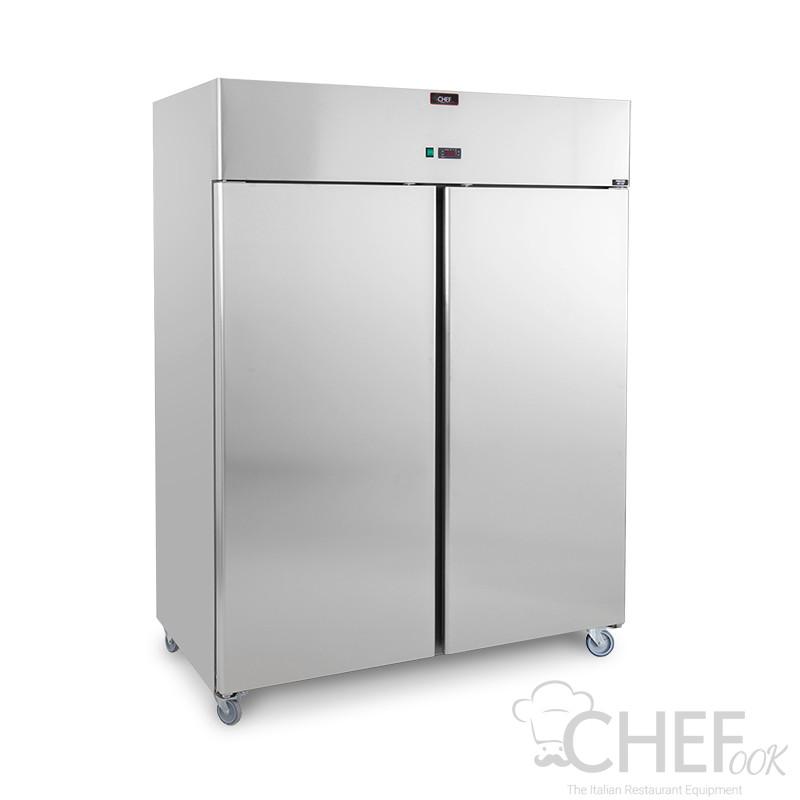 Commercial Upright Freezer 1400 -18°C/-22°C + WHEELS
