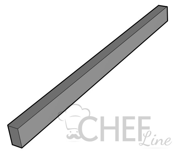 Joint Cover For 70 cm Series Commercial Ranges - Chefook