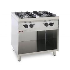 4-Burner Floor Commercial Gas Cooker