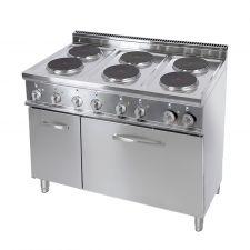 Cuisinières Électriques Professionnelles 20EX7P6+FE1