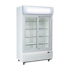 Commercial Drinks Fridge 1000 Litres +1 / +10°C Sliding Doors