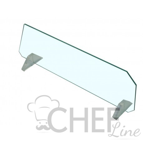 Movable Glass Divider For Straight-Glass Fridge Counters