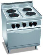 Cuisinières Électriques Professionnelles CHEX7P4+FE-O