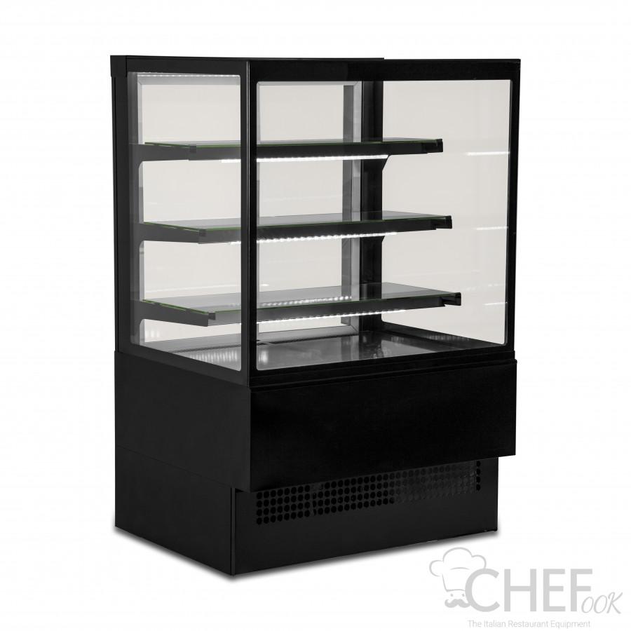 Black Refrigerated Display Cabinet EVOK150 +2°C/+4°C