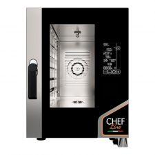 Four Électrique Professionnel Pour Restaurant Numérique 6 Plaques CHF611DGT-COMPACT