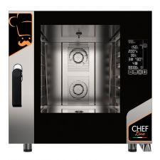 Four Électrique Professionnel Pour Restaurant Numérique 6 Plaques CHF621DGT